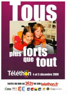 Le Téléthon 2009 en Haute-Saône