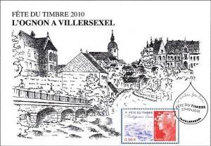 La fête du timbre 2010 à Villersexel