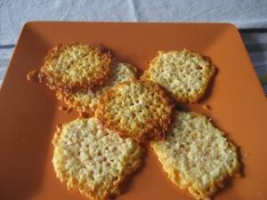 Tuiles au fromage
