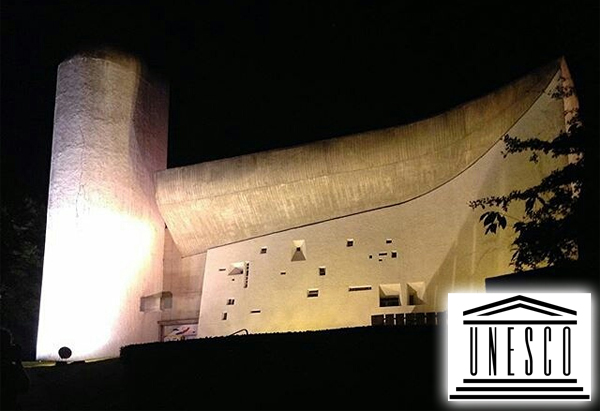 Visite de la Chapelle de Ronchamp