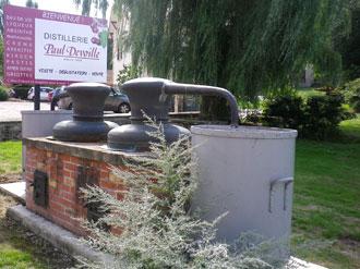 Visite de la distillerie Devoille