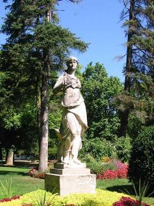 Jardin anglais, à Vesoul