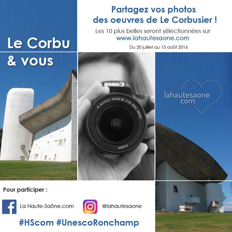 Partager vos photos de Le Corbusier !